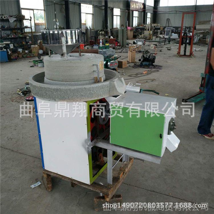 工厂直销优质小麦玉米面粉专用石磨机  低温研磨天然石材电动石磨