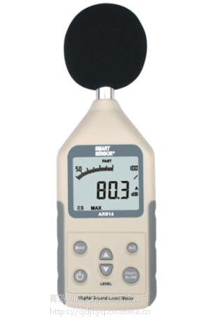 AR824噪音计 手持式噪音计30~130dBA 青岛精诚
