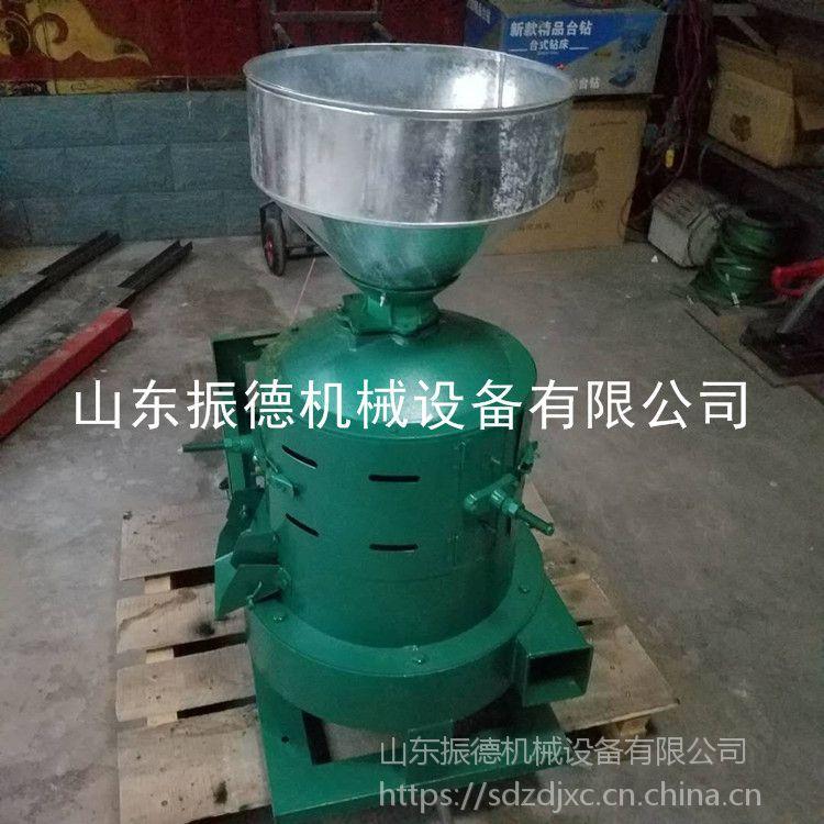 振德牌 电动砂棍碾米机 稻谷脱壳设备 五谷杂粮碾米机 型号