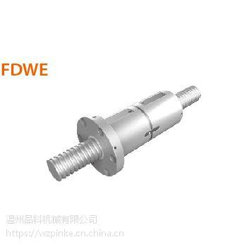 FDWE8016-高导程双螺帽PMI银泰滚珠丝杆R80-16-FDWE