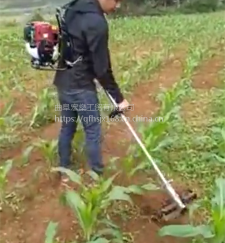 宏燊松土机翻土机微耕机小型锄地机除草机