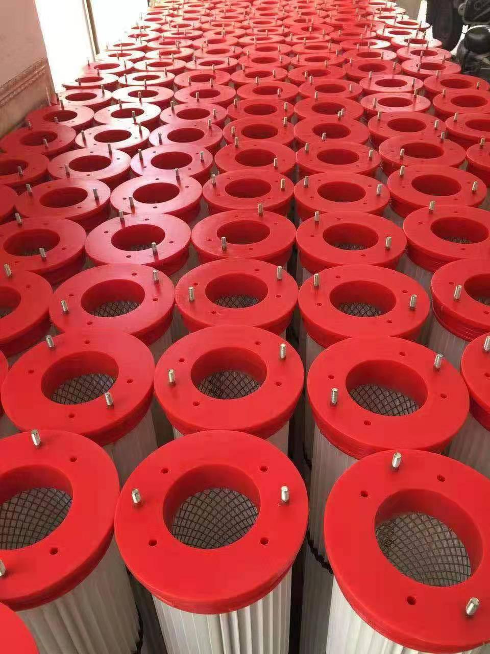 吴宇海森滤芯过滤材料加工厂生产防静电耐高温阻燃塑烧板除尘滤芯