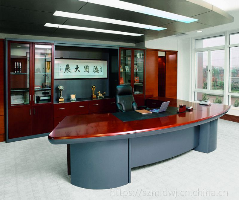 深圳办公家具简约办公桌大班台职员桌