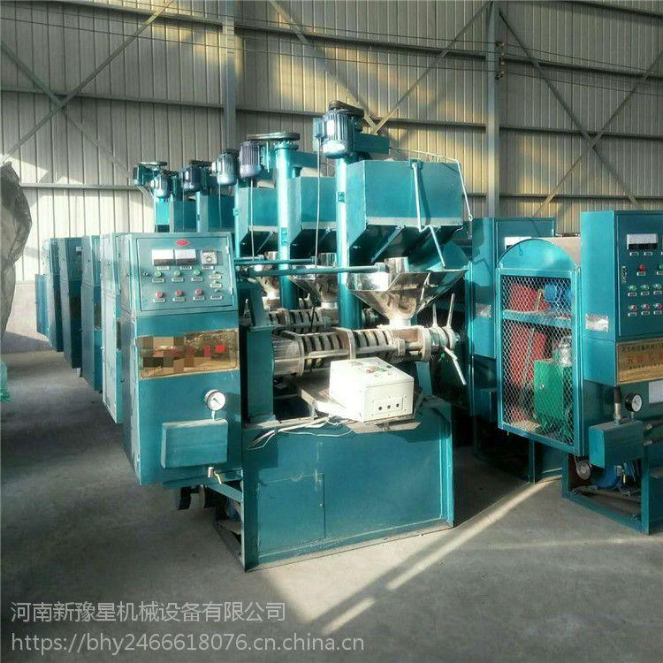 新豫星多功能全自动榨油机 花生榨油机 价格冷热一体机