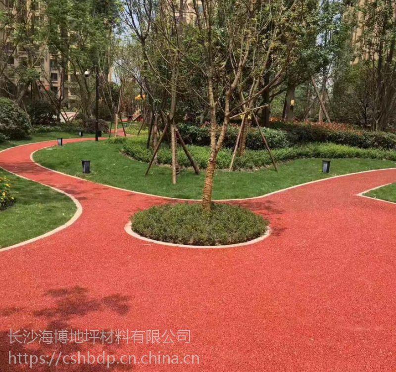 湘潭生态透水混凝土工程