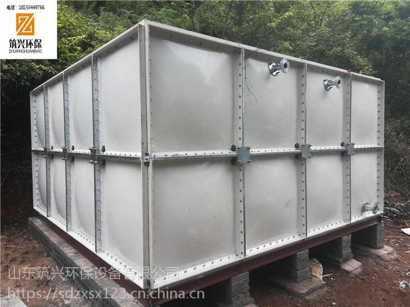 玻璃钢模压水箱厂家 定制模压组合式玻璃钢水箱