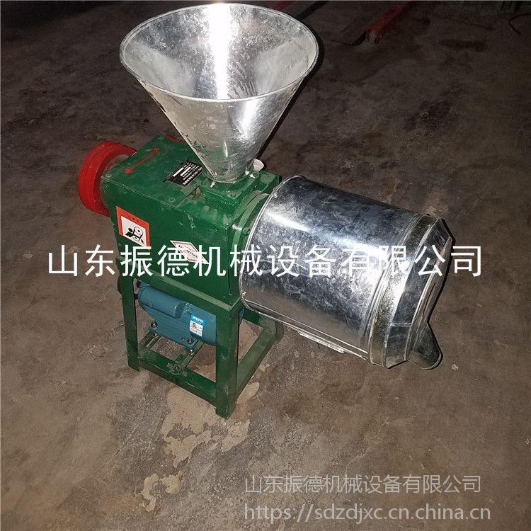 厂价零售 小型磨面机 电动锥型磨面机 振德牌 五谷杂粮面粉机