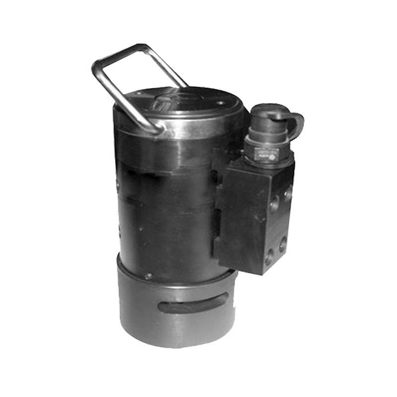 其中液压泵为动力源,压力表反应泵的输出压力,高压软管联接液压泵和图片