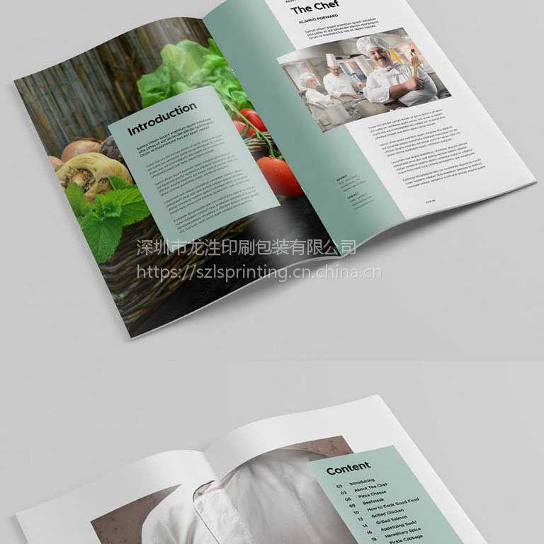 深圳画册印刷,宣传册设计,纪念册铜板纸图册,海报折页期刊设计印刷