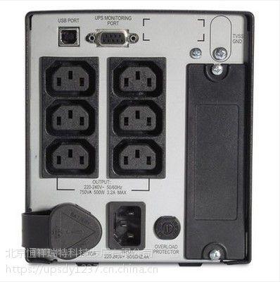 UPS不间断电源 APC SUA750ICH 750VA/500W 20分钟 稳压在线互动式