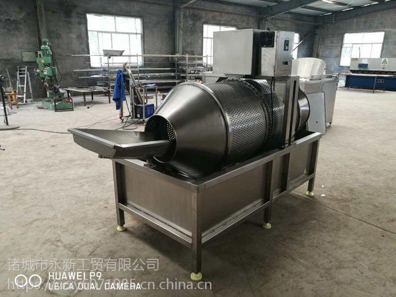 厂家专业生产秋刀鱼腌制设备,刀鱼切段机,鱼罐头油炸线