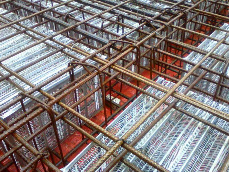 钢质网状构件的施工视频