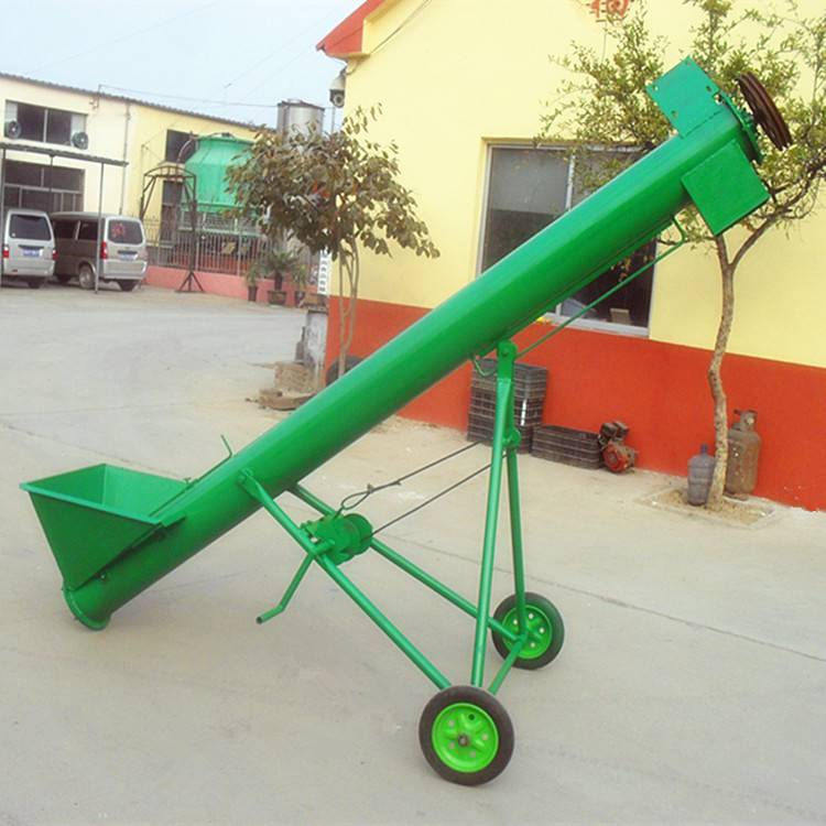 [都用]粉末状螺旋提升机 家用蛟龙上料机 谷类螺旋提升机价格