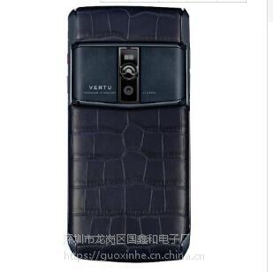 2018年new 5.2寸 vertu 威图宾利手机 4G+64G 黑色真小牛皮 双卡双待 4G
