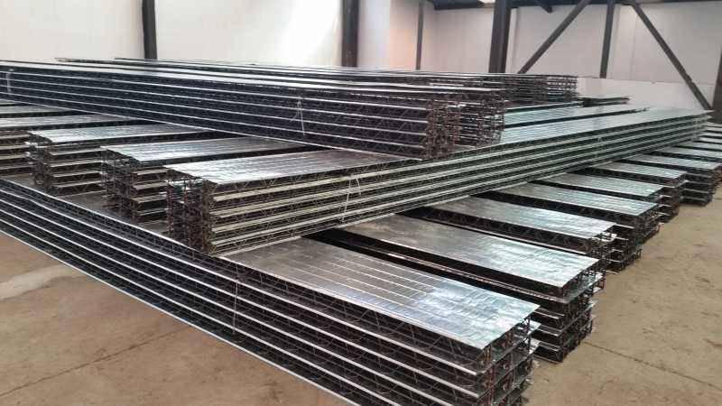 钢筋桁架楼承板TD6-120 承重楼层板加工订制
