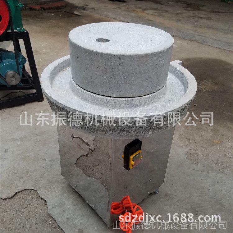供应 电动豆浆米浆石磨 两相电肠粉石磨 芝麻酱香油电动石磨机