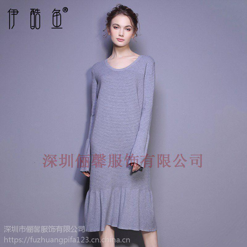 深圳性感女神高档蕾丝连衣裙休闲长裙价格