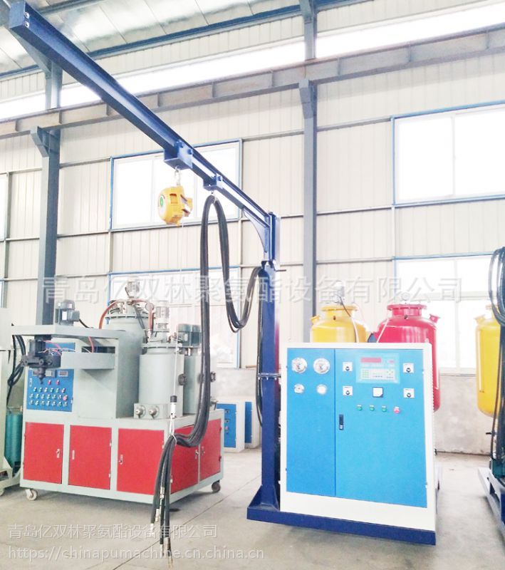 供应亿双林pu道具布景高压发泡机 pu布景生产线设备