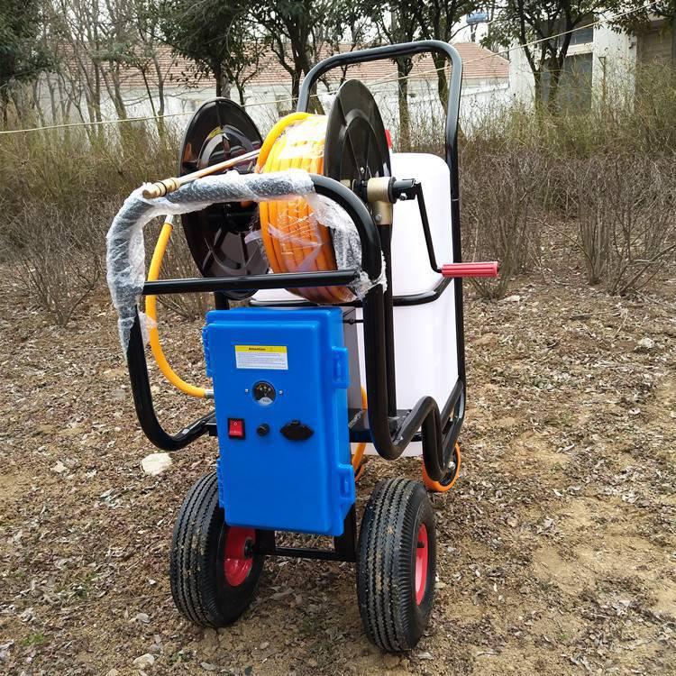 全新农田杀虫喷雾器60L蓄电池大棚打药机高压喷药车