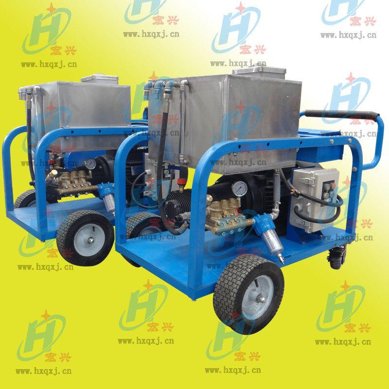 工业高压清洗机 各类锅炉的盐垢、碱垢清洗 宏兴