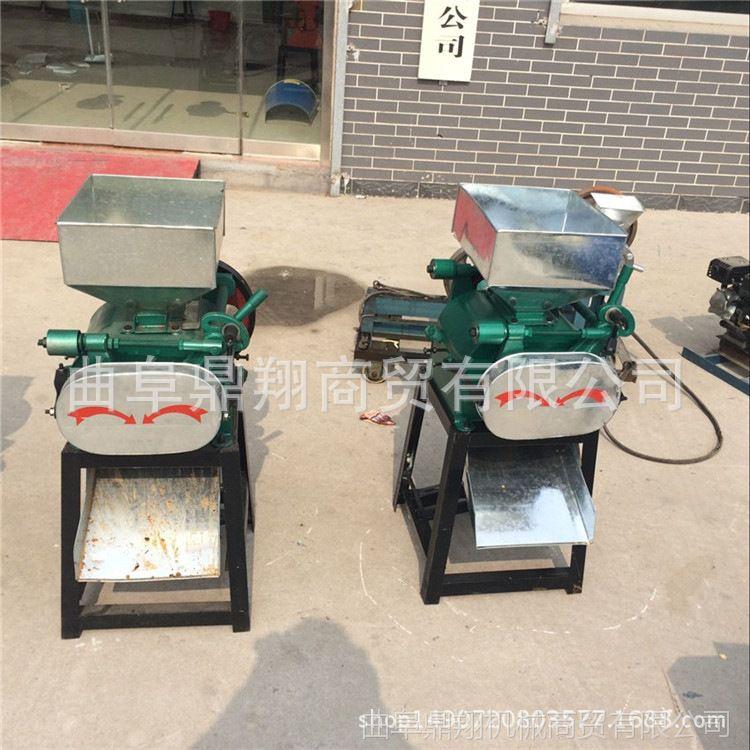 自产自销电动挤扁机 小型家用挤扁机 黑豆轧扁机