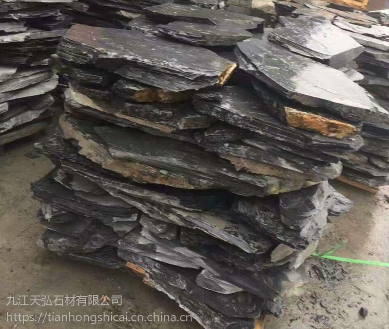 供应各种优质碎拼青石板石材,江西碎拼青石板价格优廉,青石板碎拼铺路石