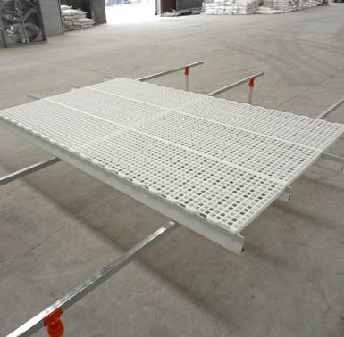 圆孔漏粪板 肉鸡粪板 鸡舍用漏粪板 鸡场建设塑料地板