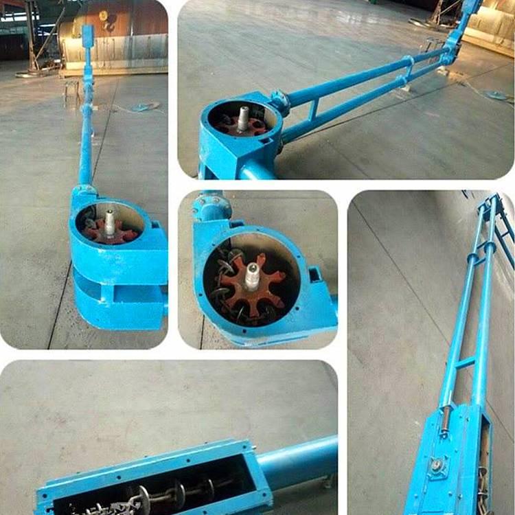 橡胶粉料用管链式输送机 兴运无尘密封式管链提升机