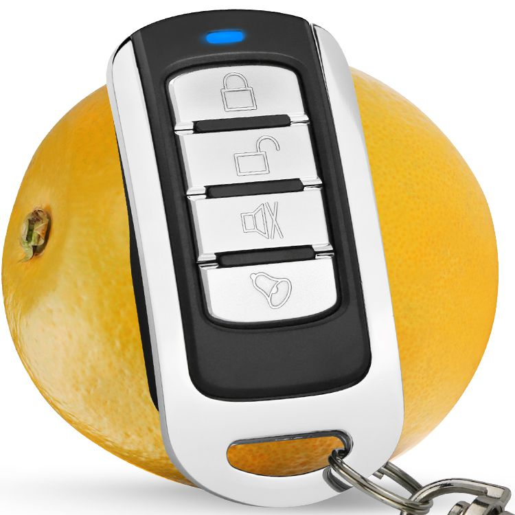 芯触发新对拷贝金属四键车库门电动卷闸车库门多用无线遥控器