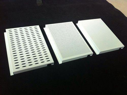 造型冲孔天花铝板_穿孔铝板吊顶
