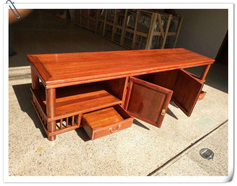 红木家具刺猬紫檀2米长电视柜多少钱
