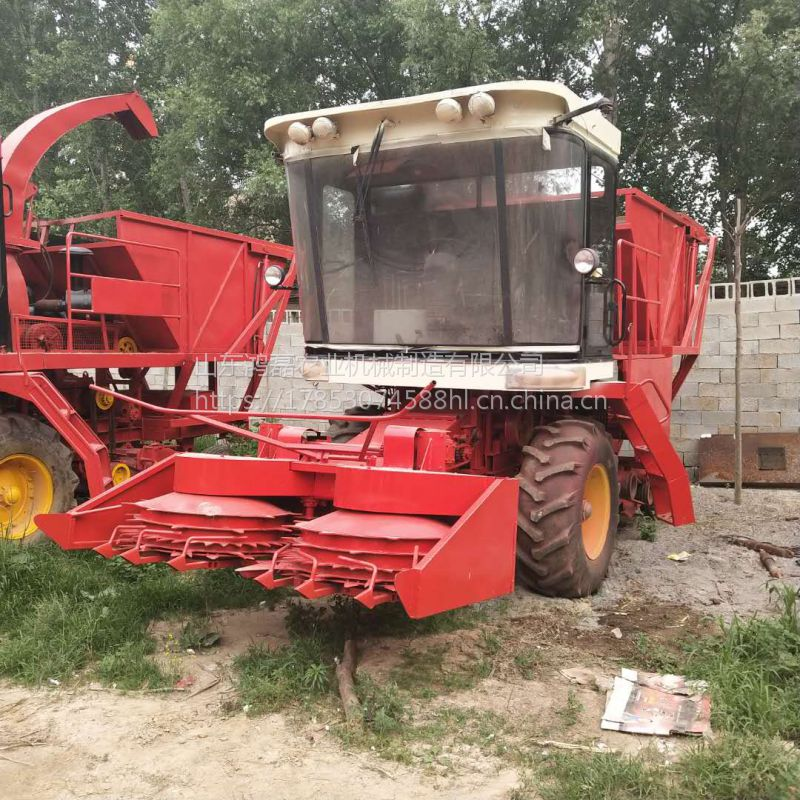 自走式牧草青贮收割机 大功率玉米秸秆切碎青储机 厂家现货销售