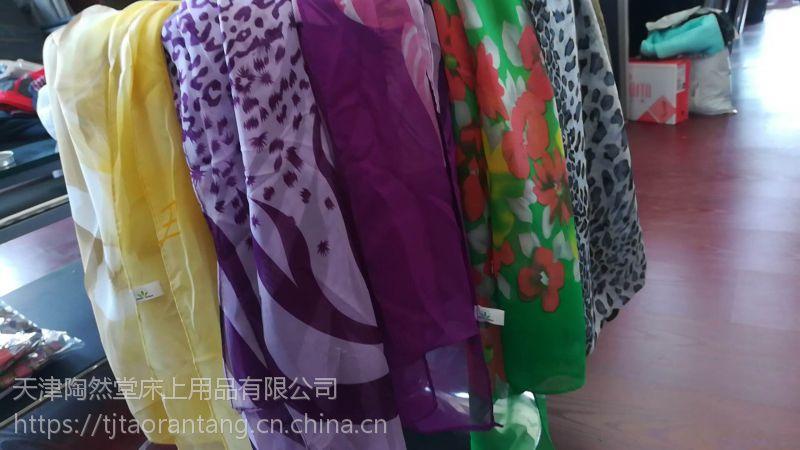 厂家直供 新款托玛琳丝巾 电气石丝巾 带托玛琳水洗标 会销礼品 可以做酸碱实验