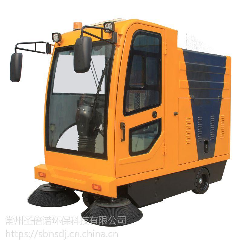 辽宁客户参观工厂并购买电动扫地机2000A