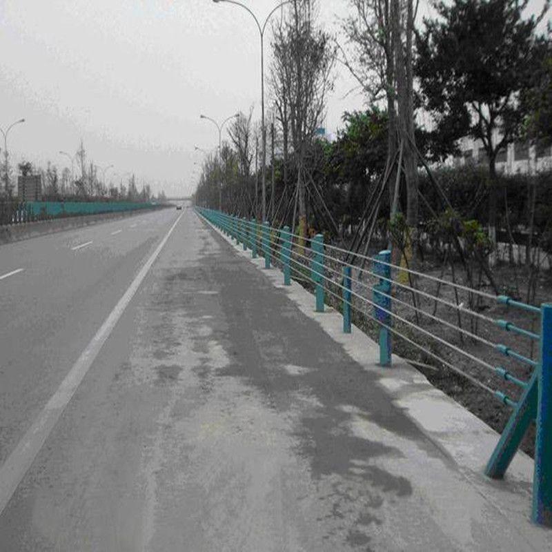 公路缆索护栏厂家、缆索防撞护栏、柔性钢丝绳护栏