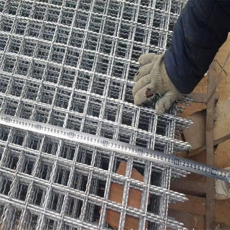 钢丝轧花网规格 油钢轧花网 铁丝编织网