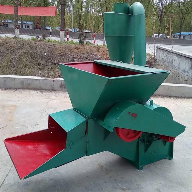 供应自动进料粉草机养殖专用粉碎机新款沙克龙打糠机