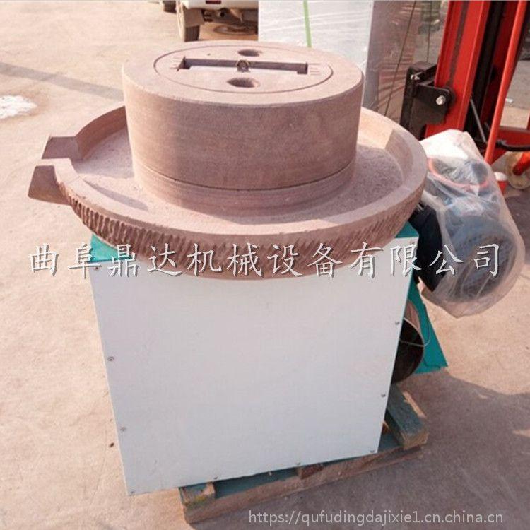 鲜豆浆磨浆专用石磨 菏泽家用豆浆石磨 鼎达机械