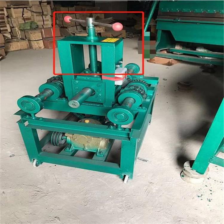 九州立式弯管机电动弯管机 重型多功能弯弧机76型弯圆机 方管圆管折弯机