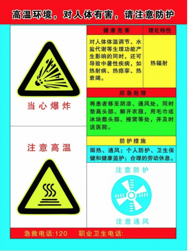 危险物品(警示)标识标签,规格定制