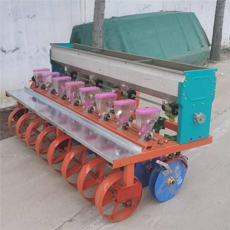 高粱白菜精播机 油菜拖拉机播种机 排种个数可调藜麦播种机