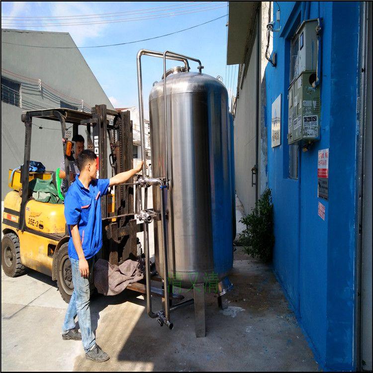 石英砂润新阀全自动水库水过滤器清又清活性炭过滤器