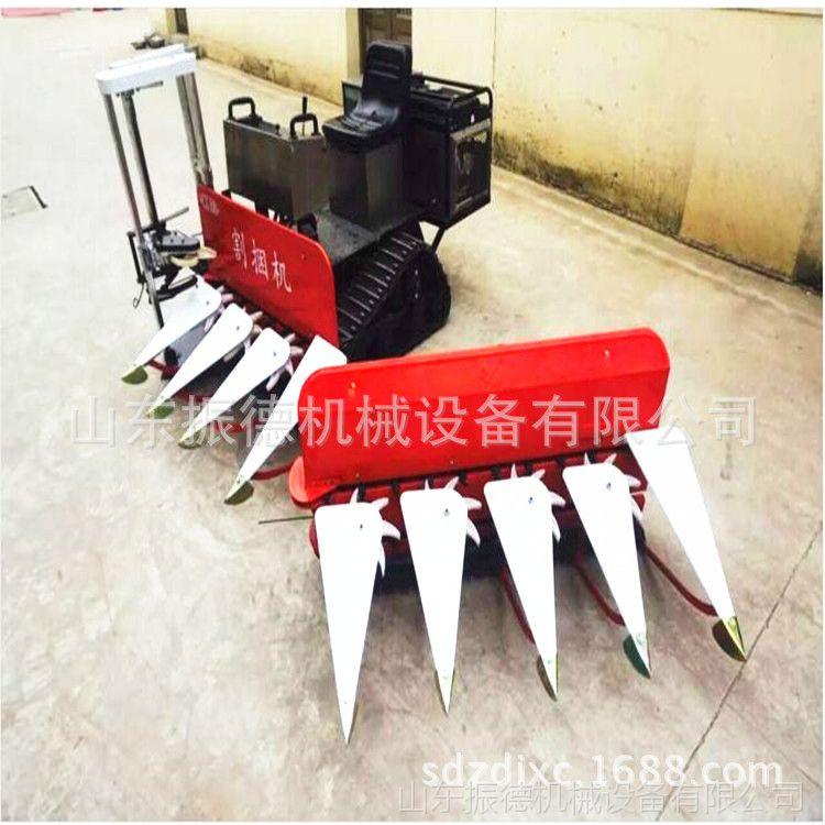 振德牌玉米收割机 小型水稻收割机 秸秆 牧草收获机 辣椒收割机