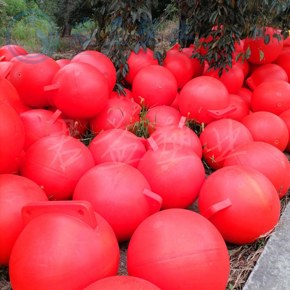 工程直径500浮球 水产养殖pe500浮球