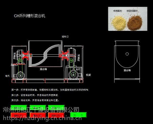 芥末专用槽型混合机 卧式混合机 立式混合机 糊状物料混合机
