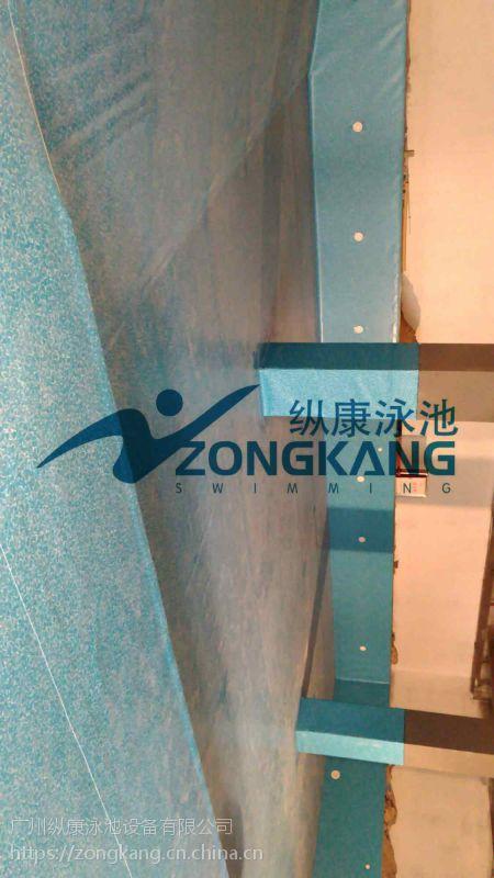 黑河成人室内外游泳池 别墅钢结构泳池 戏水池 /儿童池/广州纵康水处理设备