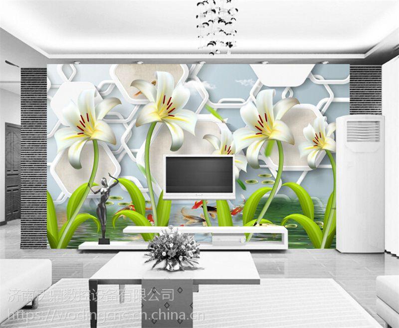 供应腾彩光磁琉彩一体机彩印设备 背景墙定制设备 2018年创业