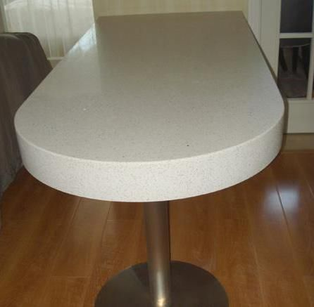 石英石餐桌台面、赛莉石人造石英石餐桌台面、广东石英石台面价格