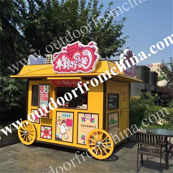 晋城广场售货亭户外雪糕车景区固定式咖啡售卖移动小卖部
