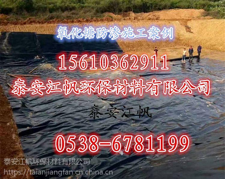 山东优质hdpe土工膜、污水处理防渗膜、蓄水池专用膜 焊接施工方便